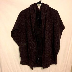 Purple Loose Cardigan